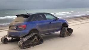 Το ερπυστριοφόρο Audi S1 είναι μια ανοησία που έχει πλάκα! [vid]