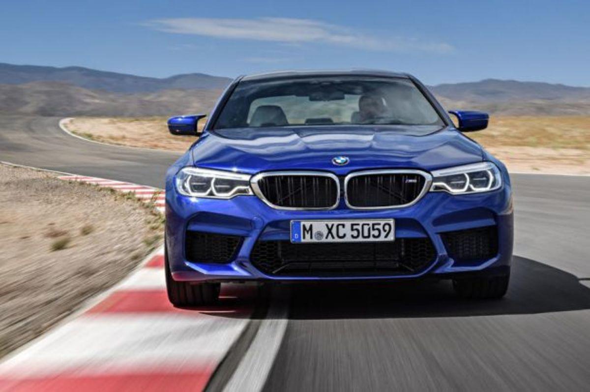 Η νέα BMW M5 είναι τετρακίνητη και έχει 600 αγριεμένα άλογα! [vid]   Newsit.gr