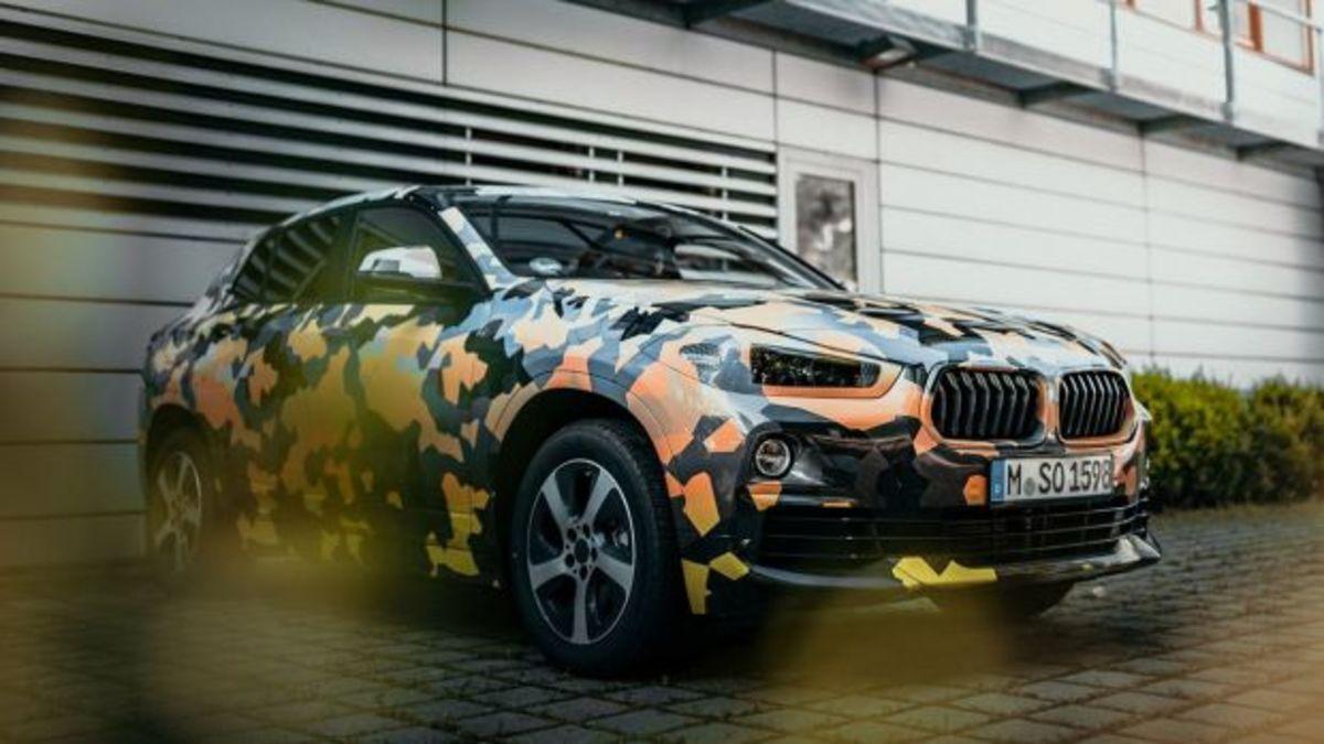 Νέες «κατασκοπευτικές» φωτογραφίες της BMW X2 [pics]   Newsit.gr