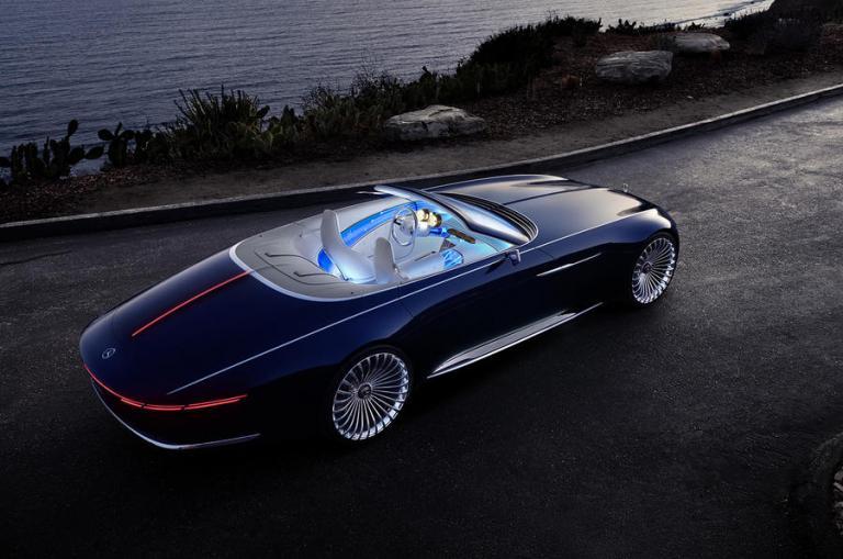 Νέα Mercedes-Maybach 6 Cabriolet: Ηλεκτρική πολυτέλεια! [vid] | Newsit.gr