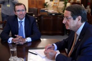 Δύο εκθέσεις για το Κυπριακό ετοιμάζει ο Έσπεν Άιντε