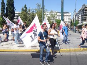 Πορεία φοιτητών στο Σύνταγμα