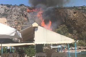 Φωτιά στο Ναύπλιο δίπλα σε κατοικημένη περιοχή! [pics]