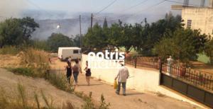 Φωτιά στην Αμαλιάδα: Κατευθύνεται προς το χωριό Περιστέρι – Άλλα τρία πύρινα μέτωπα στην Ηλεία