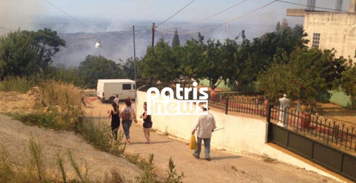 Φωτιά στην Αμαλιάδα: Κατευθύνεται προς το χωριό Περιστέρι – Άλλα τρία πύρινα μέτωπα στην Ηλεία | Newsit.gr