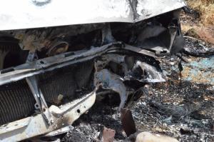 Φρικτός θάνατος στη Λάρισα! Κάηκε ζωντανός στο αυτοκίνητό του!