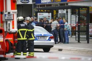 Επίθεση στο Αμβούργο: Βίντεο ντοκουμέντο από τη σύλληψη του δράστη