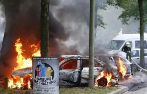 G20: Η κόλαση του Αμβούργου! Άγρια επεισόδια, συμπλοκές και τραυματίες [pics, vids]