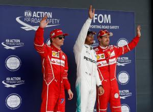 Formula1: Πήρε την pole position o Χάμιλτον!