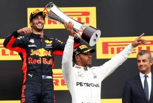 Formula 1: Κυρίαρχος στο Βέλγιο ο Χάμιλτον
