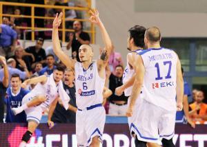 Ισπανία – Ελλάδα: Στον τελικό του Ευρωμπάσκετ Νέων Ανδρών η «γαλανόλευκη»!