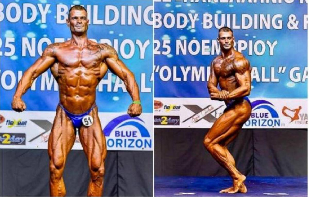 Ανώτερος αξιωματικός του Έβρου συμμετέχει σε… Παγκόσμιο αγώνα Bodybuilding![pics] | Newsit.gr