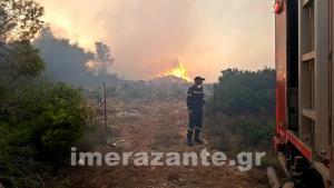 Εμπρησμό «δείχνουν» οι φωτιές στη Ζάκυνθο – 5 μεγάλες είναι ακόμα σε εξέλιξη
