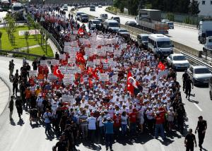 Στην Κωνσταντινούπολη η «λαοθάλασσα» εναντίον του Ερντογάν! [pics]