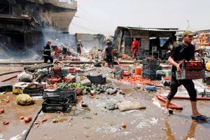 Ιράκ: 11 νεκροί σε επίθεση τζιχαντιστών σε αγορά της Βαγδάτης
