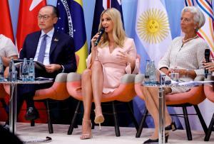 G20: Εκθαμβωτική η Ιβάνκα Τραμπ! Ξεκαρδίστηκε η Λαγκάρντ [pics]