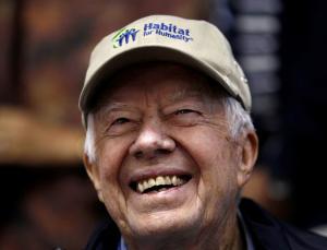 Βγήκε από το νοσοκομείο ο πρώην πρόεδρος των ΗΠΑ, Τζίμι Κάρτερ