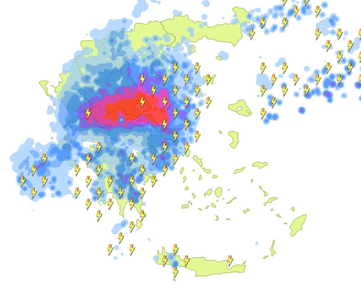 Καιρός: Η «Μέδουσα» θα «χτυπήσει» και την Αττική! Ισχυρές καταιγίδες τις επόμενες ώρες   Newsit.gr