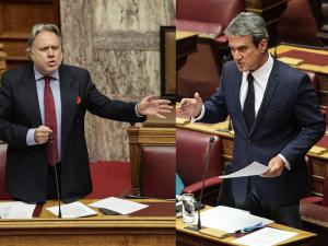 «Πεζοδρόμιο» πάλι η Βουλή – Λοβέρδος σε Κατρούγκαλο: Είσαι πολιτικό μαλάκιο