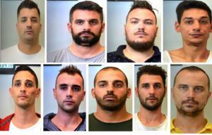 Αυτά είναι τα μέλη της σπείρας που έκλεβε πολυτελή αυτοκίνητα [pics]