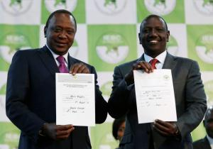 Ο Ουχούρου Κενυάτα επανεξελέγη πρόεδρος της Κένυας
