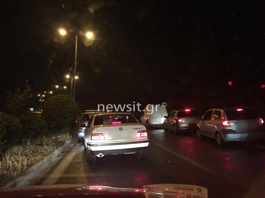 kinisi 1024x768 - Σοβαρό τροχαίο στην Λεωφόρο Κατεχάκη! Τούμπαραν δύο αυτοκίνητα – Σε κρίσιμη κατάσταση οι οδηγοί