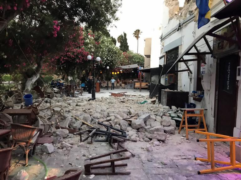 Σεισμός στην Κω: Οι εικόνες της καταστροφής [pics, vids] | Newsit.gr
