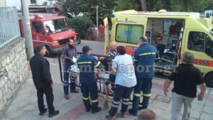 Λαμία: Αναστάτωση από τραυματισμό μαθητή στην αυλή σχολείου