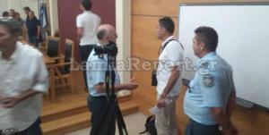 Λαμία: Επεισοδιακή συνεδρίαση του δημοτικού συμβουλίου! Τηλεφώνημα για βόμβα