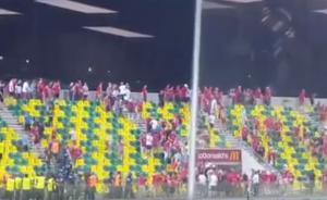 Επεισόδια από οπαδούς της Αμπερντίν στην Κύπρο! Δύο τραυματίες [vid]