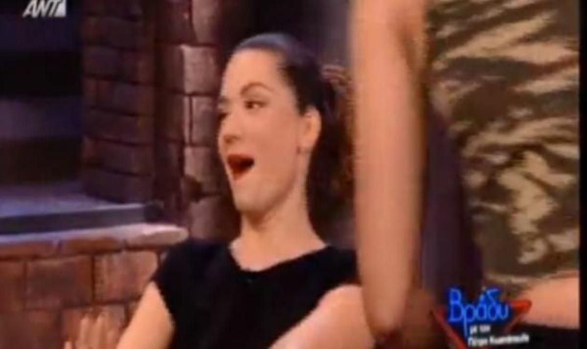 Β. Λασκαράκη: Τι έκανε όταν ένας άντρας έκανε μπροστά της στριπτιζ! Βίντεο | Newsit.gr