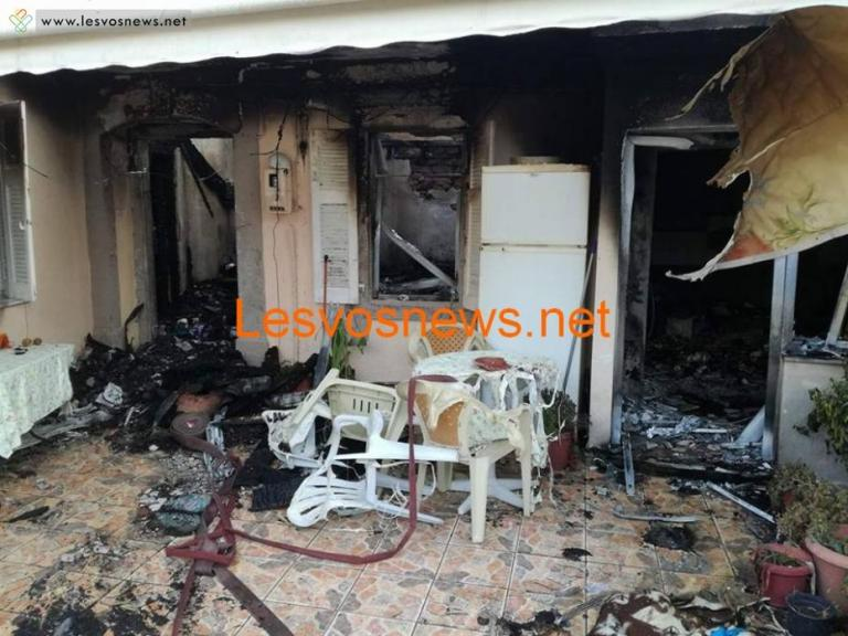Τραγωδία! Είδε τα παιδιά της να καίγονται – Δύο νεκροί στη Λέσβο – Θρήνος από τη μητέρα που δεν πρόλαβε να σώσει τα παιδιά της   Newsit.gr