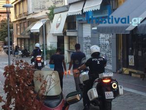 Άγριο ξύλο στο κέντρο της Θεσσαλονίκης