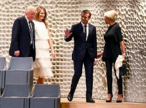 Τραμπ: Το πρόγραμμα του στο Παρίσι! Θα φάει μαζί με το Προεδρικό ζεύγος και την Μελάνια στον Πύργο του Άιφελ