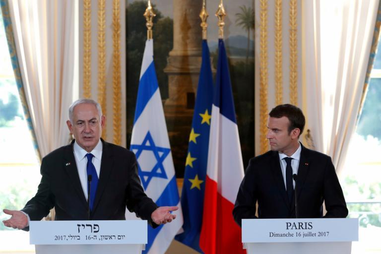Συνάντηση Μακρόν – Νετανιάχου στο Παρίσι [pics]   Newsit.gr