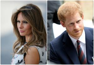 Μελάνια Τραμπ: Πρώτη φορά… σόλο για τα μάτια του Πρίγκιπα Χάρυ! [pics]