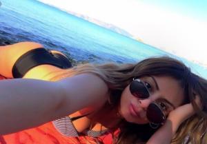 Δυστύχημα Παντελή Παντελίδη: Η Μίνα Αρναούτη δείχνει τα σημάδια της από το τροχαίο [pic]