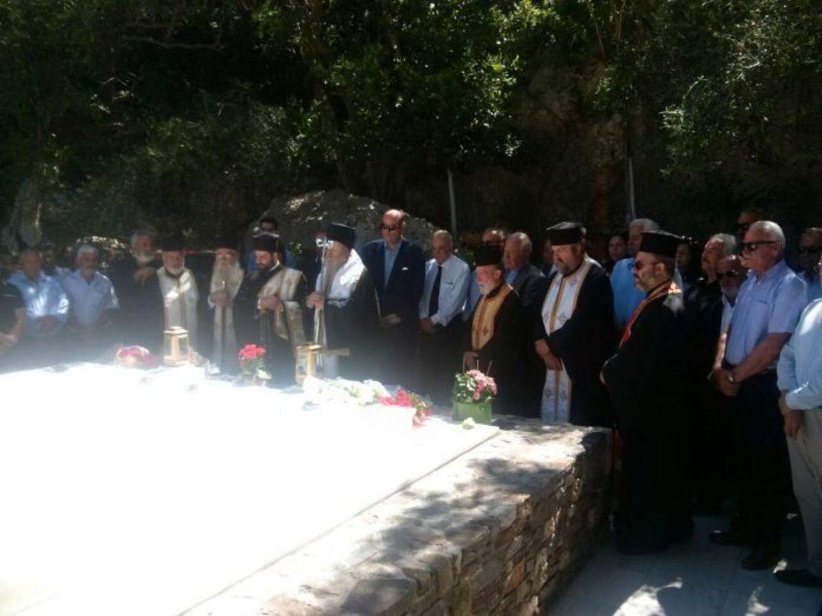 Μνημόσυνο για τις 40 ημέρες από τον θάνατο του Κωνσταντίνου Μητσοτάκη [pics] | Newsit.gr
