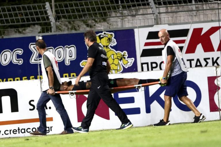Παναθηναϊκός: Σοβαρός τραυματισμός Μολέδο! Καταγγελία «τριφυλλιού» για το ασθενοφόρο   Newsit.gr