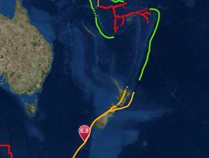 Σεισμός 6,8 Ρίχτερ στην Νέα Ζηλανδία