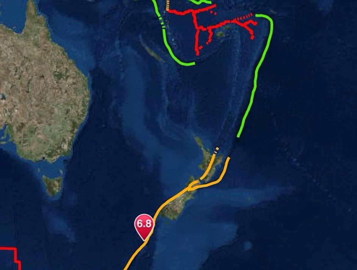 μακελαρησ νεα ζηλανδια Twitter: Σεισμός 6,8 Ρίχτερ στην Νέα Ζηλανδία
