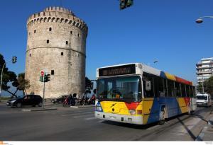 Θεσσαλονίκη: Στους δρόμους της πόλης επιπλέον 70 αστικά λεωφορεία