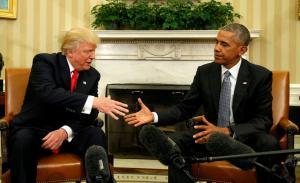 Πιο ρατσιστής πεθαίνεις! Ο Τραμπ «αστειεύεται» με τον Ομπάμα και την έκλειψη Ηλίου [pic]