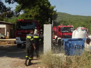 Χαροπαλεύει ο ένας τραυματίας από τη φωτιά στα Οινόφυτα [vid]
