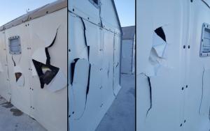 Οινούσσες: Βανδάλισαν τους οικίσκους των προσφύγων [pics]