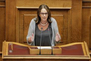Παπανάτσιου στη Βουλή: Δεν είμαστε βιτσιόζοι