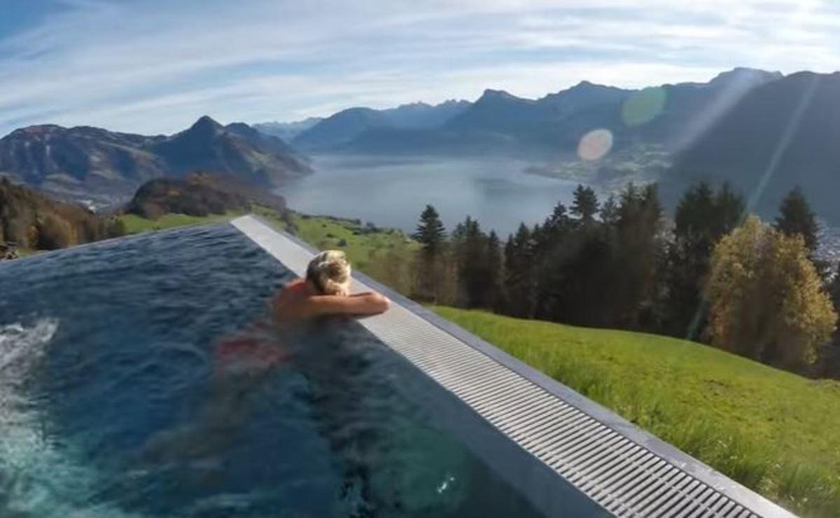 Σε αυτήν την πισίνα θέλουν να πάνε όλοι! Δείτε την εκπληκτική θέα της!