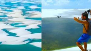 Το θαύμα της φύσης με τους αμμόλοφους στην Βραζιλία [vid]