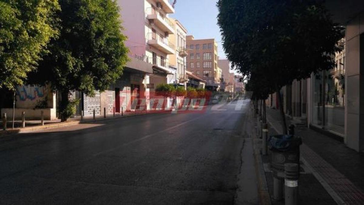 Έρημη πόλη η Πάτρα! [pics] | Newsit.gr