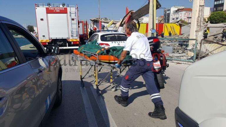 Πάτρα: Ένας νεκρός από κατάρρευση οροφής στο παλιό λιμάνι! Η τραγική ειρωνεία   Newsit.gr